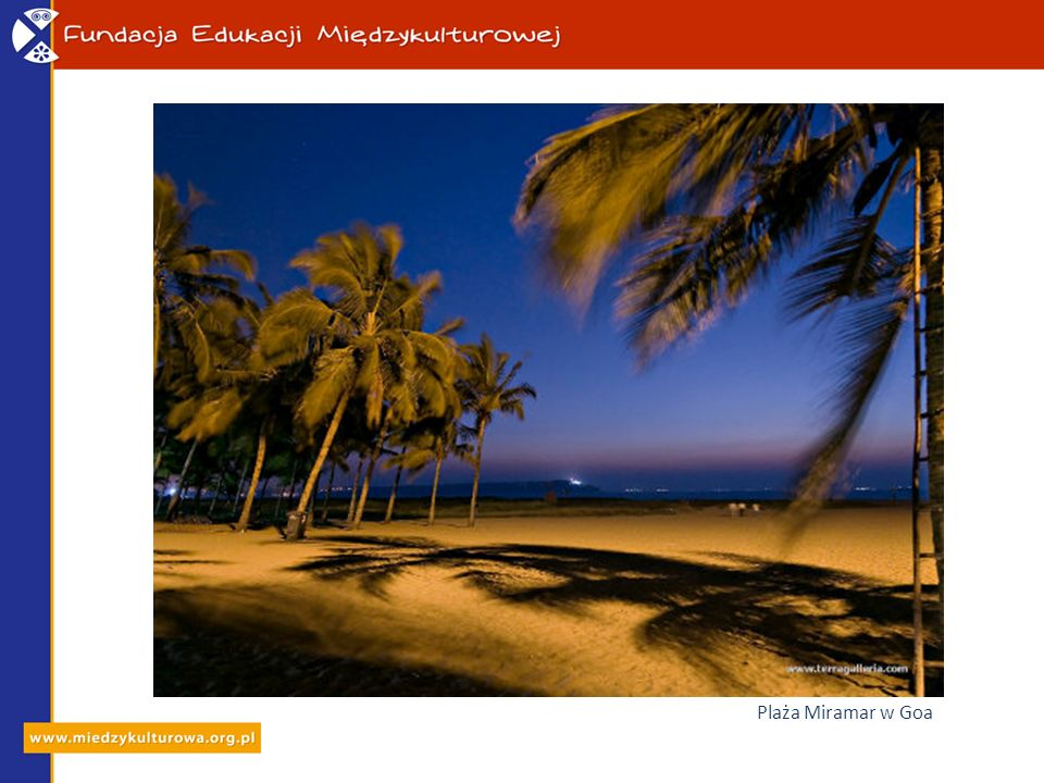 Plaża Miramar w Goa