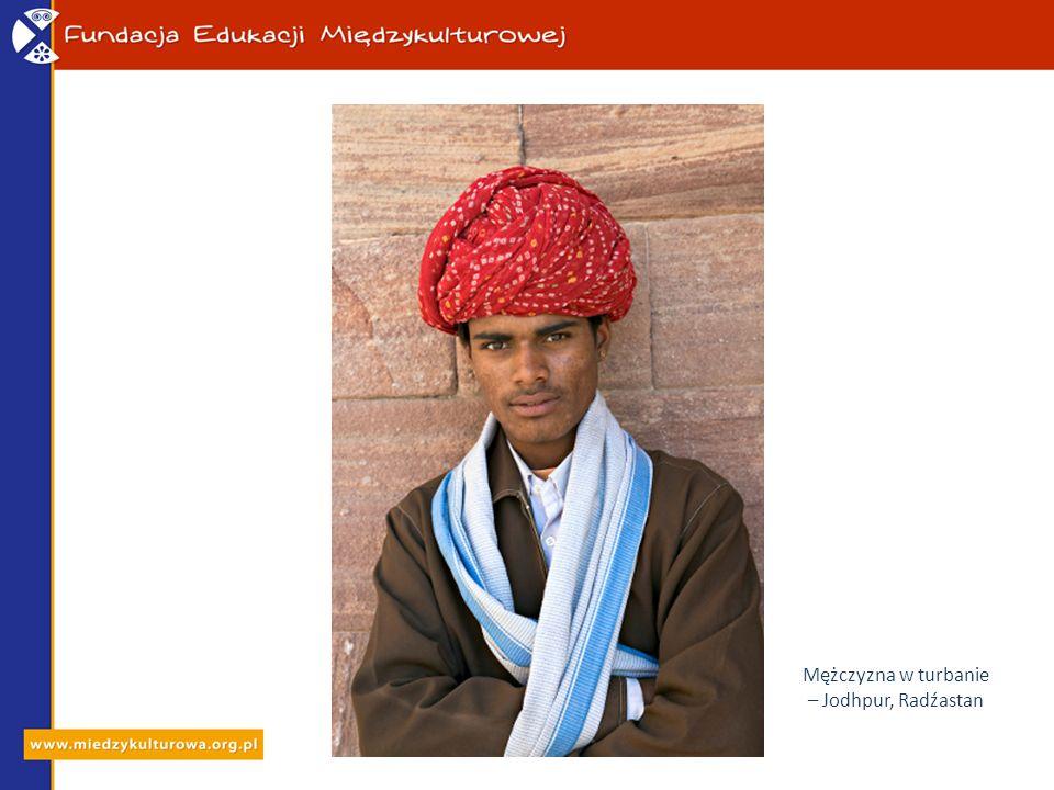 Mężczyzna w turbanie – Jodhpur, Radźastan