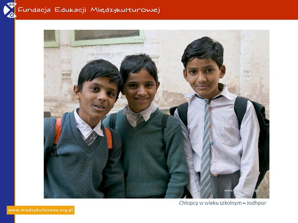 Chłopcy w wieku szkolnym – Jodhpur