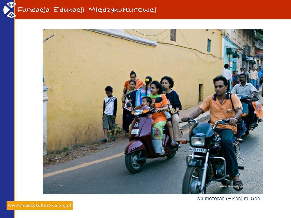Na motorach – Panjim, Goa