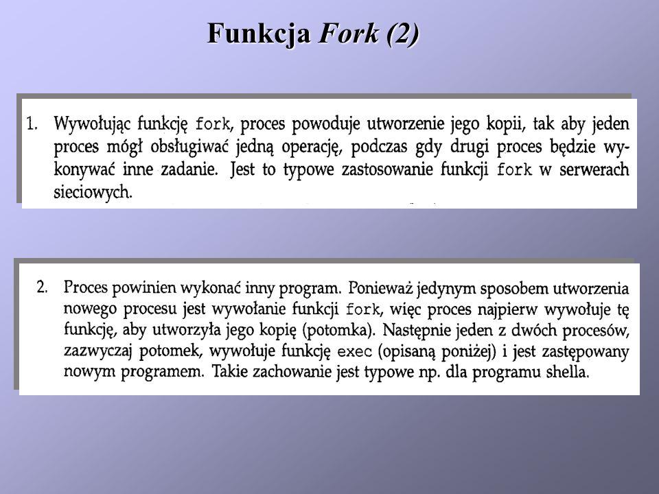 Funkcja Fork (2)