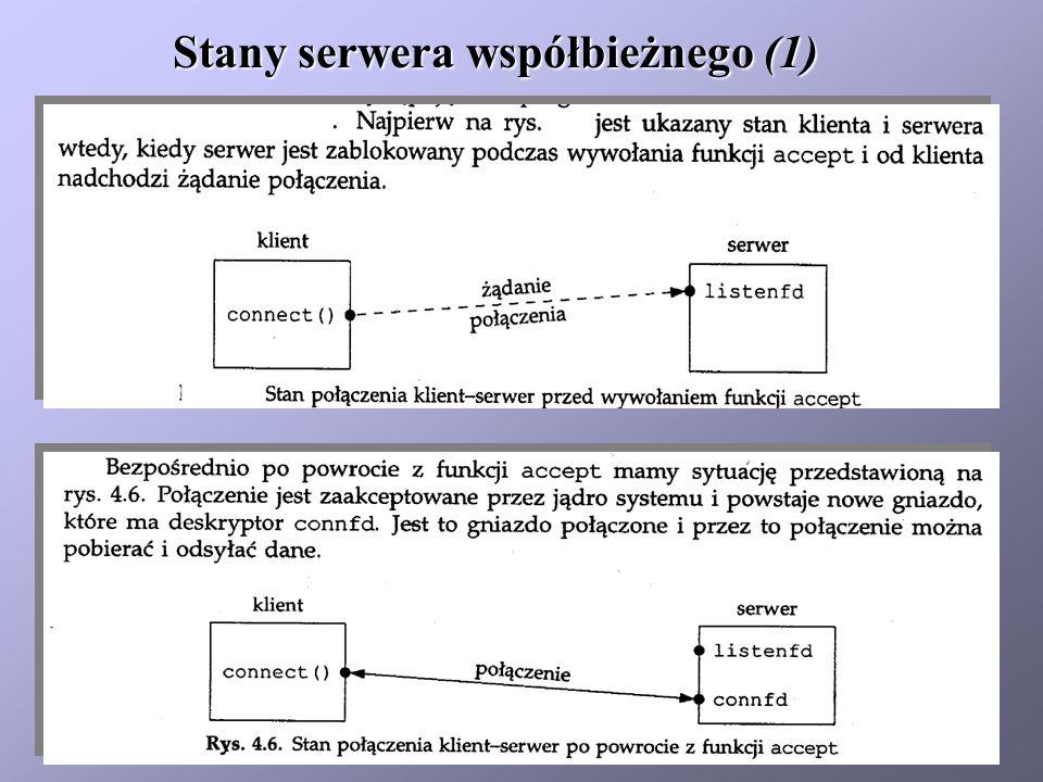 Stany serwera współbieżnego (1)