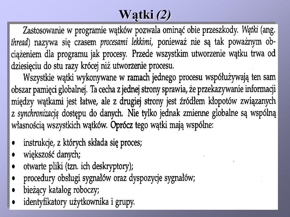 Wątki (2)