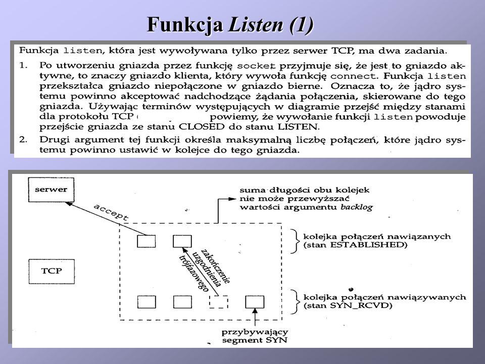 Funkcja Listen (2)