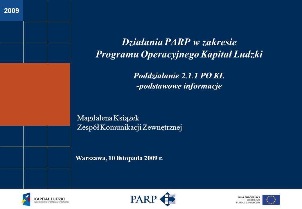 2009 Warszawa, 10 listopada 2009 r.