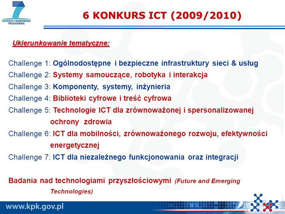 Ukierunkowanie tematyczne: Challenge 1: Ogólnodostępne i bezpieczne infrastruktury sieci & usług Challenge 2: Systemy samouczące, robotyka i interakcj