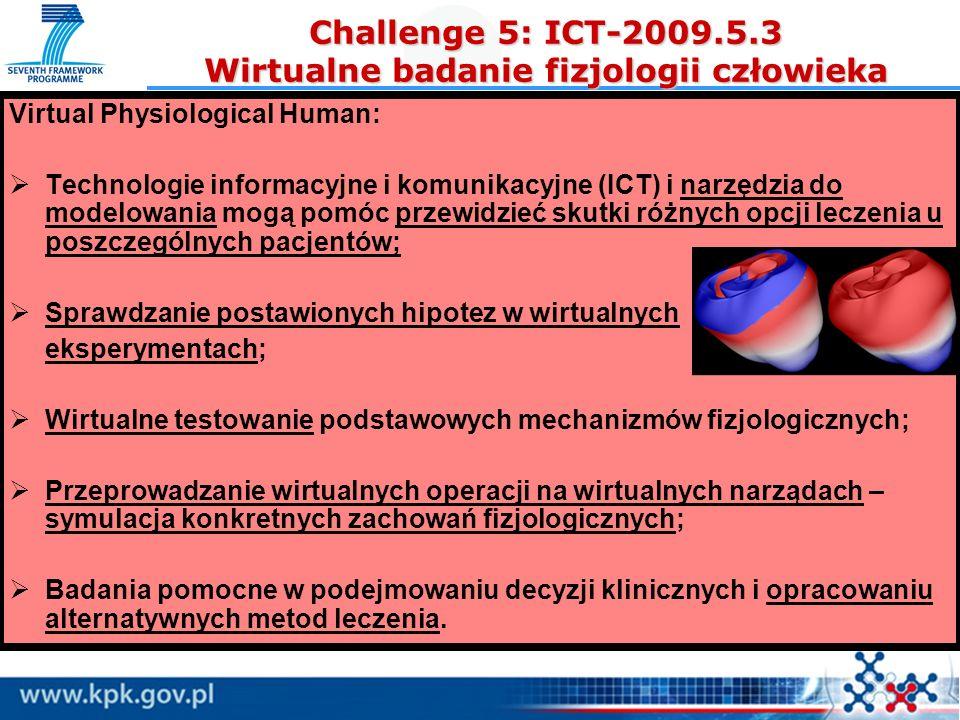 Virtual Physiological Human: Technologie informacyjne i komunikacyjne (ICT) i narzędzia do modelowania mogą pomóc przewidzieć skutki różnych opcji lec