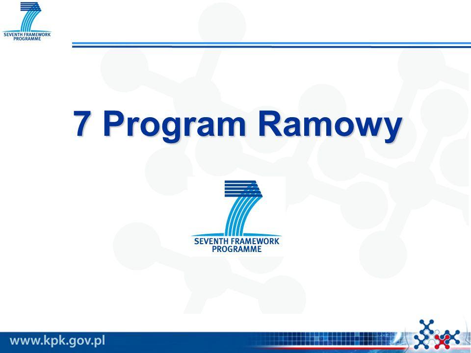 7 Program Ramowy 7 Program Ramowy