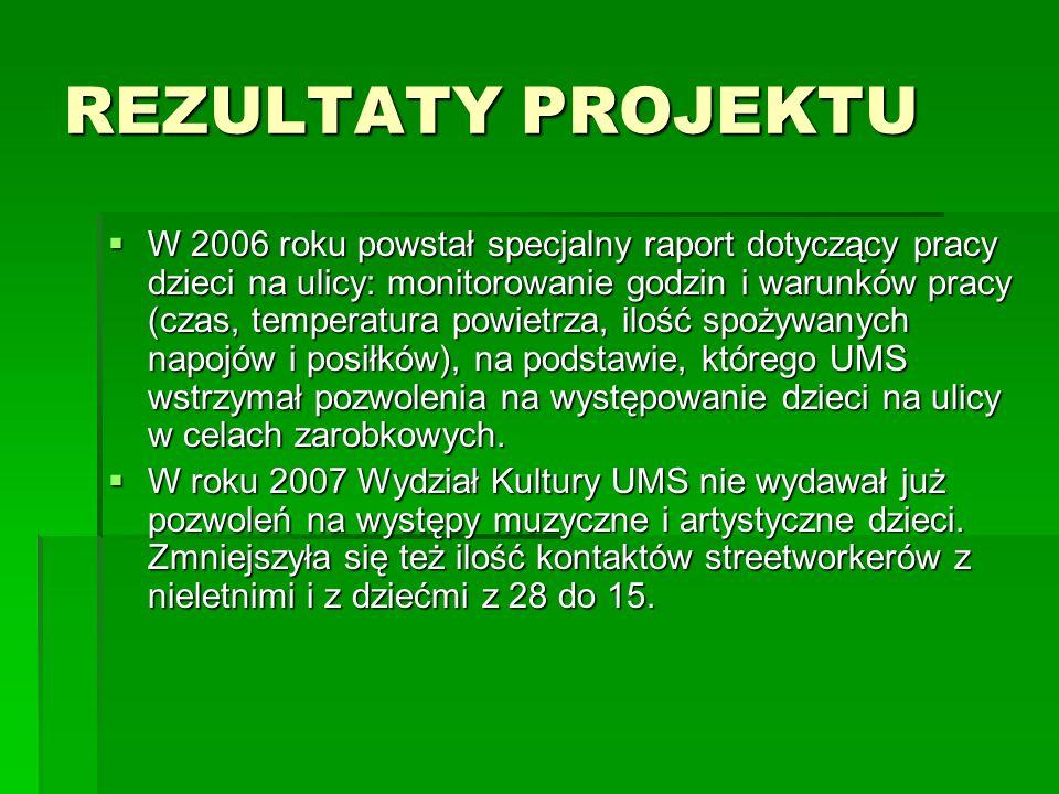 ILOŚĆ KONTAKTÓW W LATACH 2006 I 2007