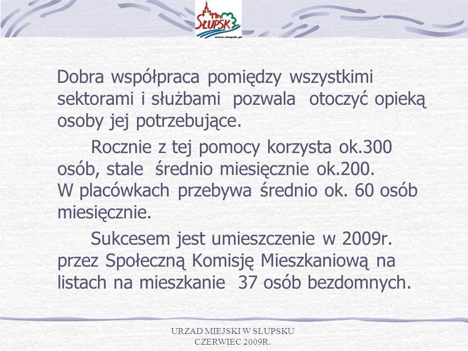 URZAD MIEJSKI W SŁUPSKU CZERWIEC 2009R.Towarzystwo Pomocy im.