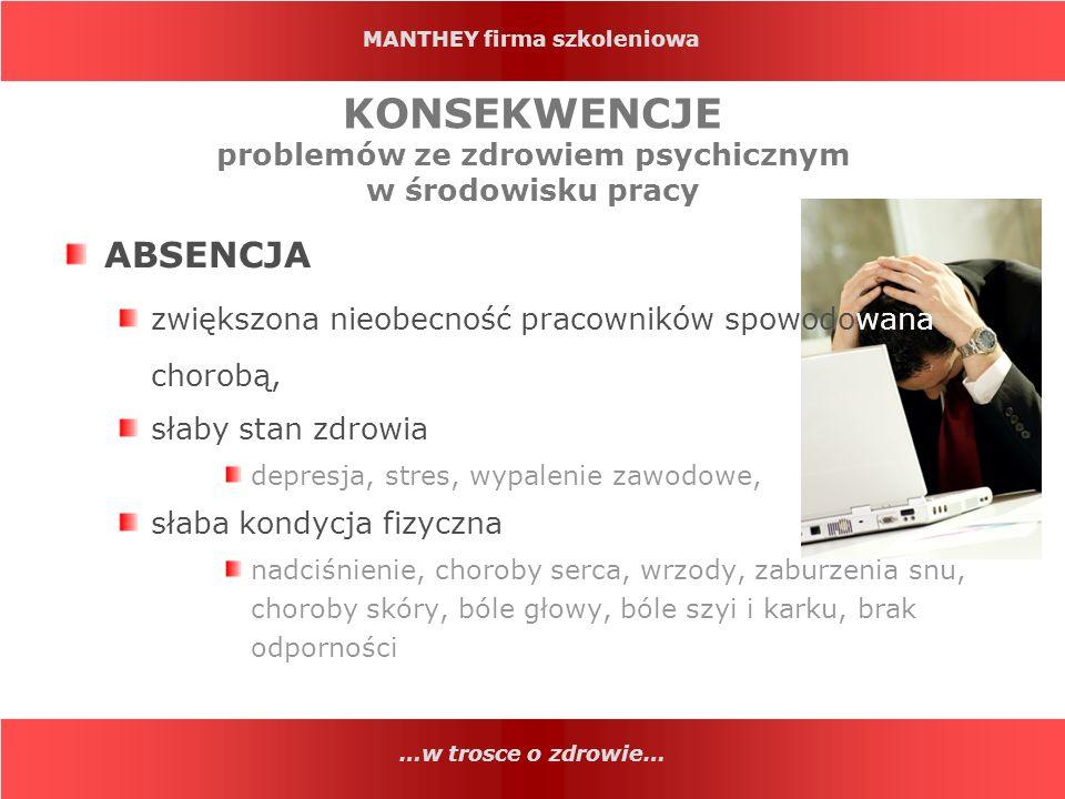 MANTHEY firma szkoleniowa DZIĘKUJEMY ZA UWAGĘ.