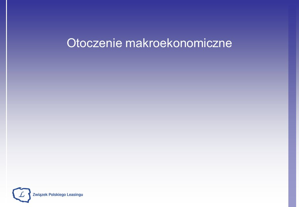 Źródło ZPL Konferencja prasowa styczeń 2010 ZPL domaga się zmian w prawie gospodarczym, które dadzą w efekcie: Zwiększoną efektywność wykorzystania funduszy unijnych przez samorządy - poprzez refundację ceny zakupu przedmiotu leasingu - zwiększenie inwestycji nie obciążających wskaźników zadłużenia Stan aktualny: Możliwość refundacji ceny zakupu leasingu została uwzględniona we wszystkich największych programach krajowych oraz w 6 RPO.