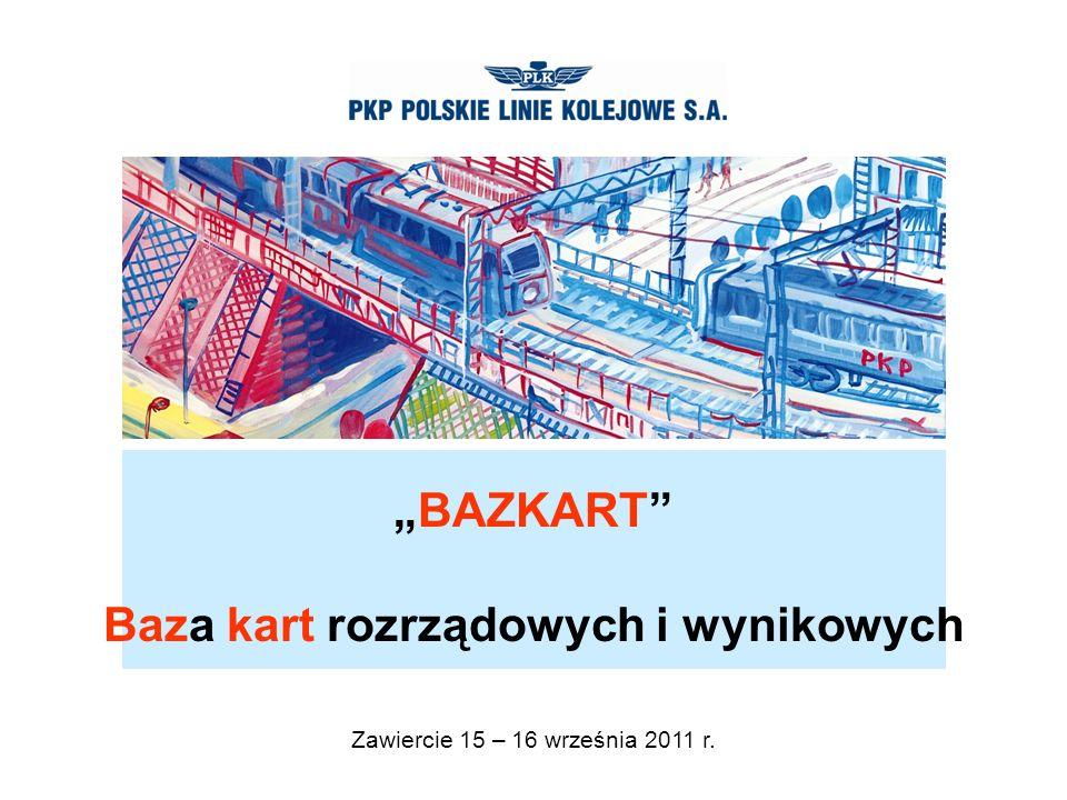 www.plk-sa.pl BAZKART Baza kart rozrządowych i wynikowych Zawiercie 15 – 16 września 2011 r.
