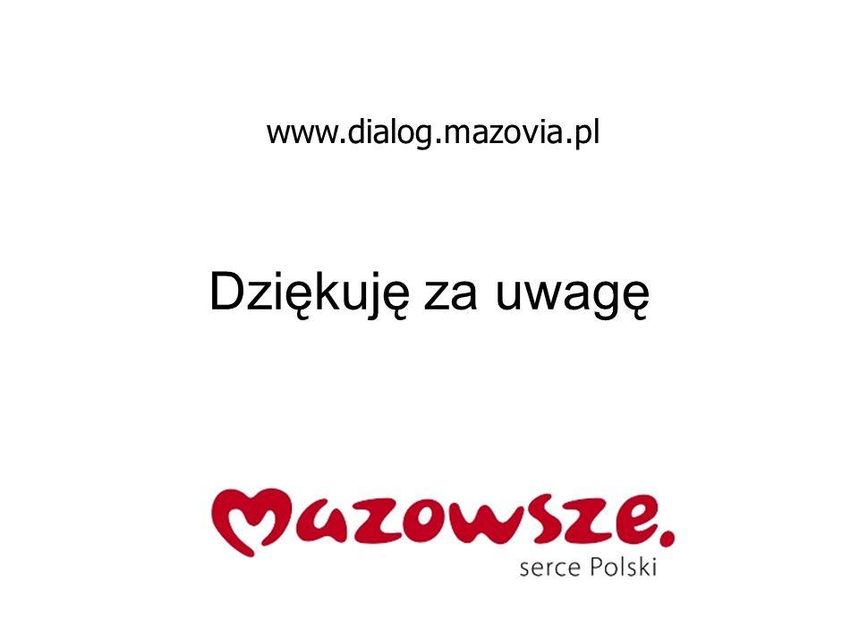 Dziękuję za uwagę www.dialog.mazovia.pl