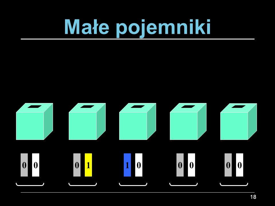 18 0100000100 Małe pojemniki