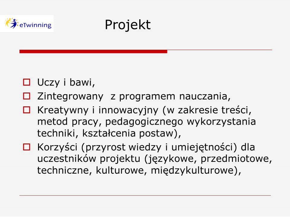 Projekt Uczy i bawi, Zintegrowany z programem nauczania, Kreatywny i innowacyjny (w zakresie treści, metod pracy, pedagogicznego wykorzystania technik