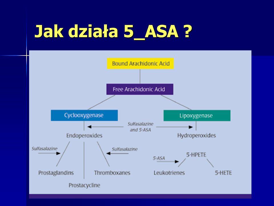 W jakiej postaci występuje 5-ASA .