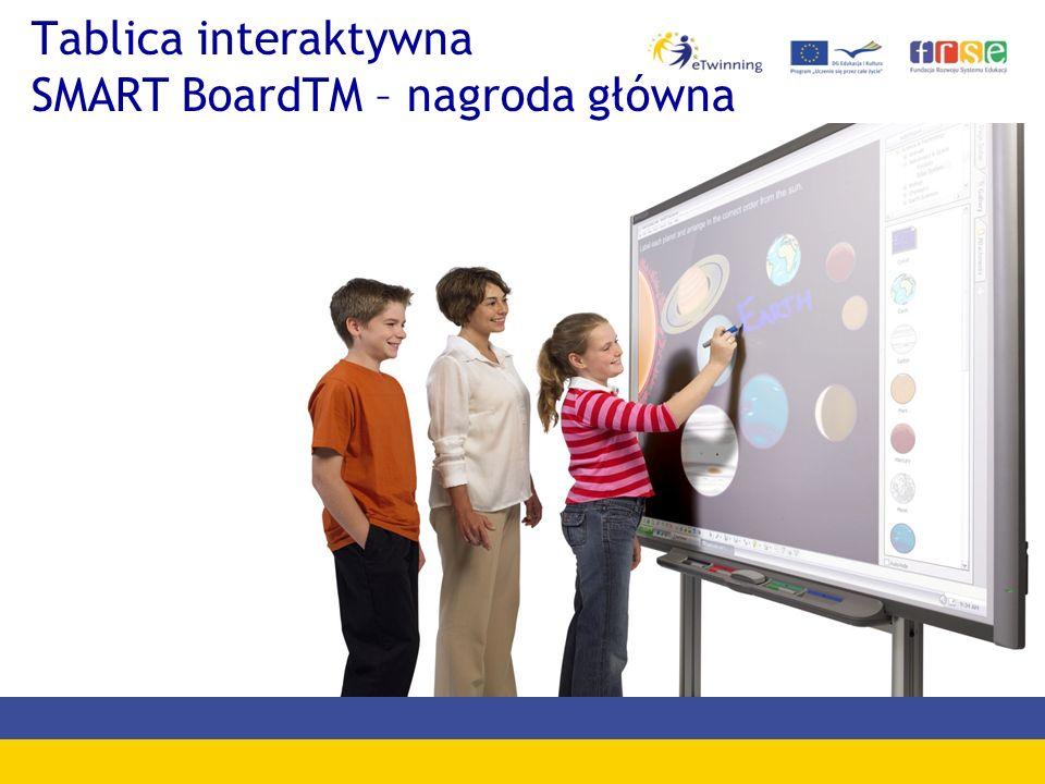 Tablica interaktywna SMART BoardTM – nagroda główna