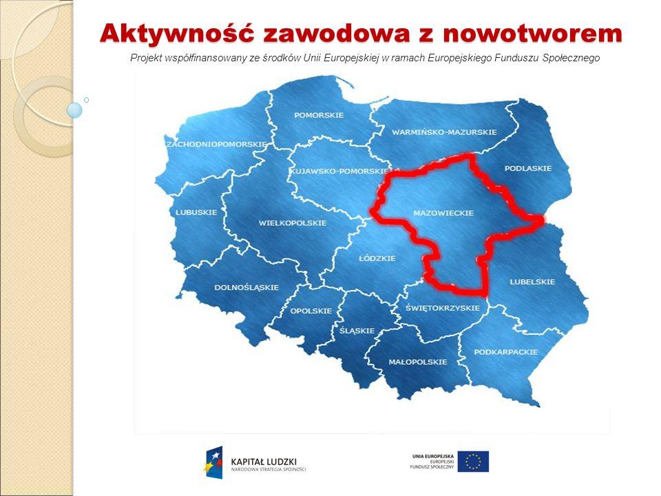 Aktywność zawodowa z nowotworem Projekt współfinansowany ze środków Unii Europejskiej w ramach Europejskiego Funduszu Społecznego