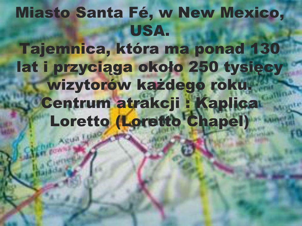Miasto Santa Fé, w New Mexico, USA.