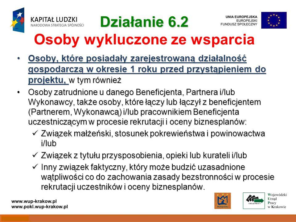 Kwoty przeznaczone na konkursy POKL/6.2/IA/10: 28 116 000 PLN POKL/6.2/IB/10 (dla powodzian): 30 000 000 PLN Konkursy zamknięte Konkursy zamknięte z terminem składania wniosków do 30 lipca 2010 r.