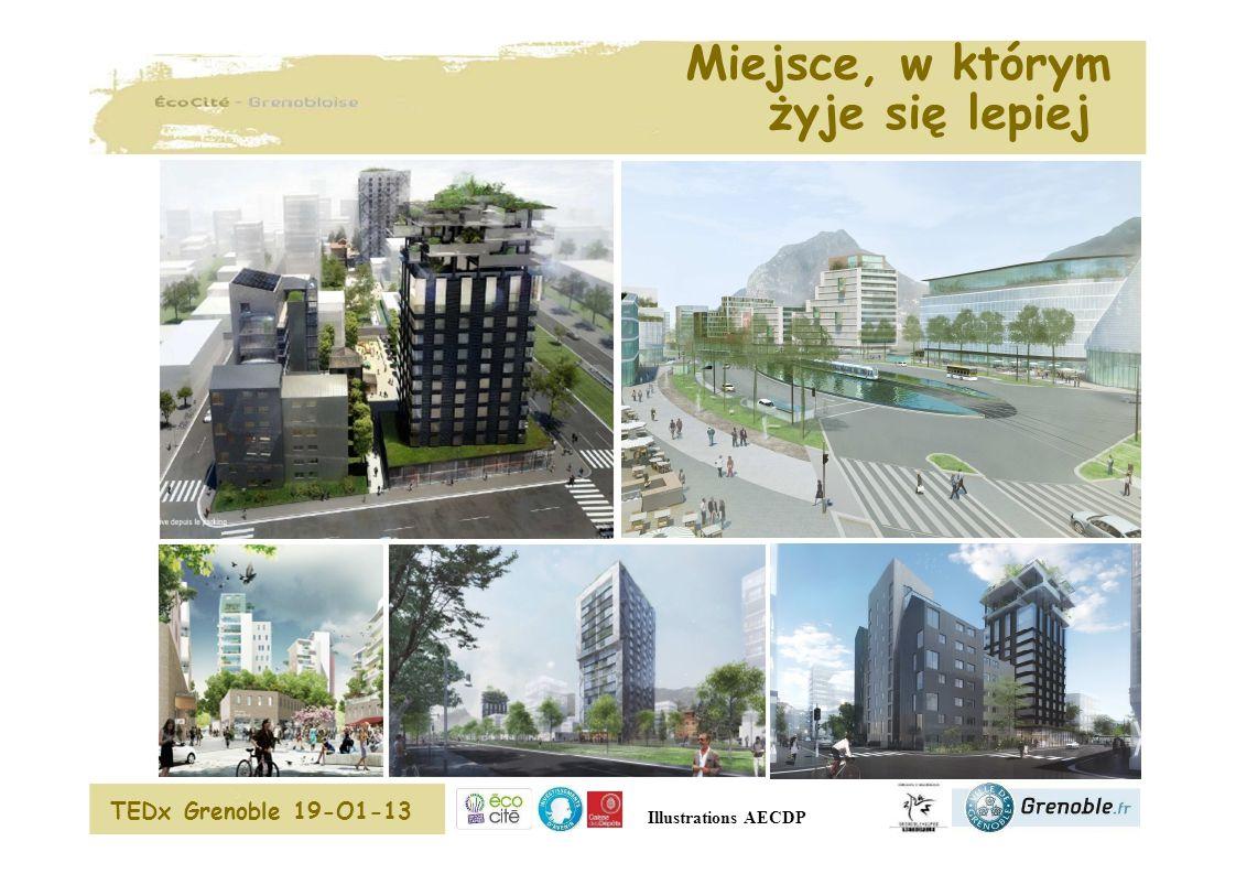 Miejsce, w którym żyje się lepiej TEDx Grenoble 19-O1-13 Illustrations AECDP