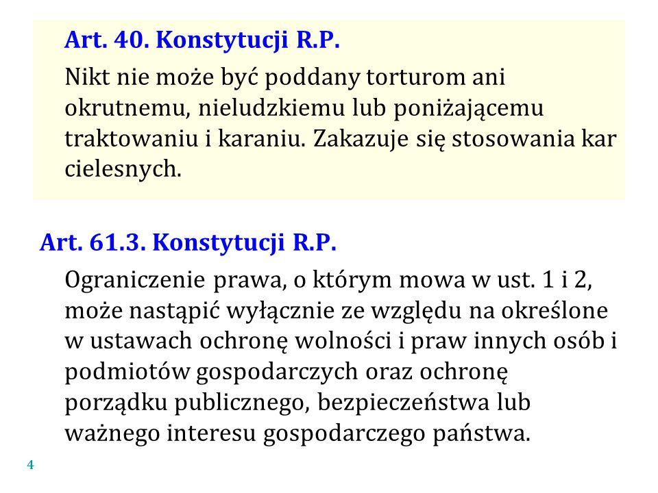 Art.40. Konstytucji R.P.