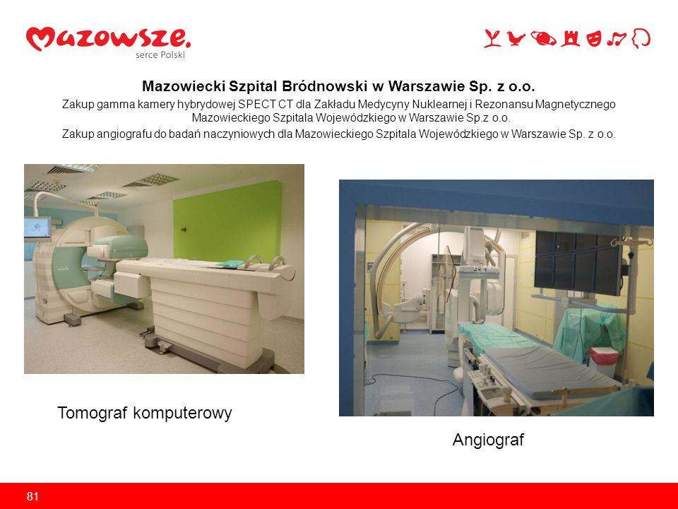 Mazowiecki Szpital Bródnowski w Warszawie Sp.z o.o.