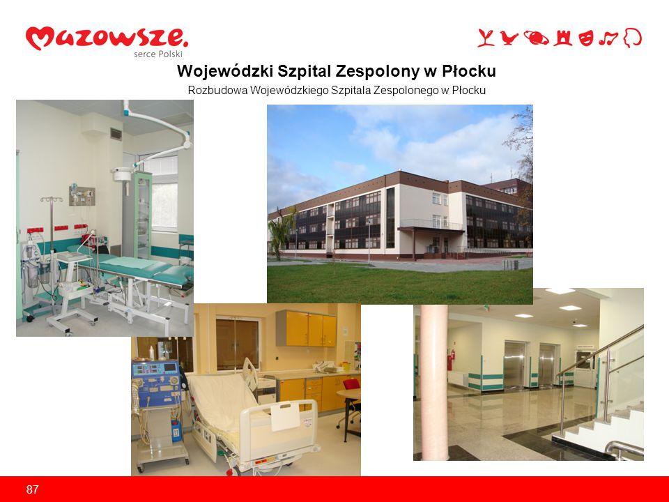 Specjalistyczny Szpital Wojewódzki w Ciechanowie Budowa lądowiska dla helikopterów służących dostępności do Szpitalnego Oddziału Ratunkowego w Ciechanowie 88