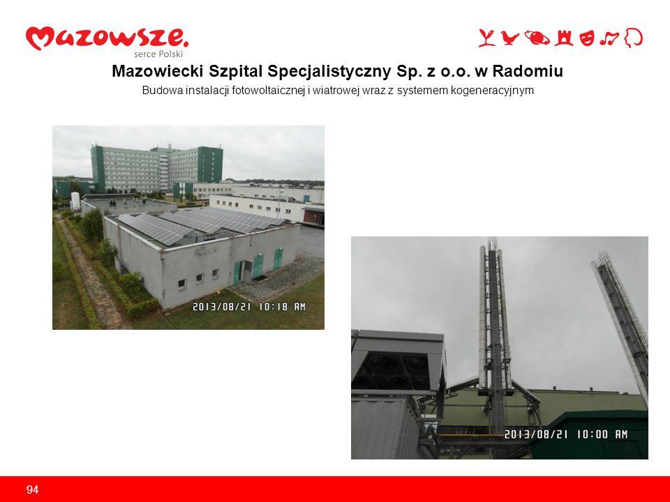 Mazowiecki Szpital Specjalistyczny Sp. z o.o. w Radomiu Zakup mammografu 95