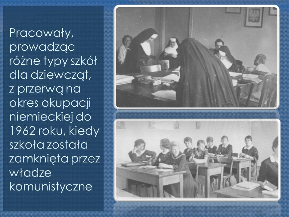 Po 20 latach przerwy, w 1982 roku zostało rewindykowane Prywatne Żeńskie Liceum Ogólnokształcące