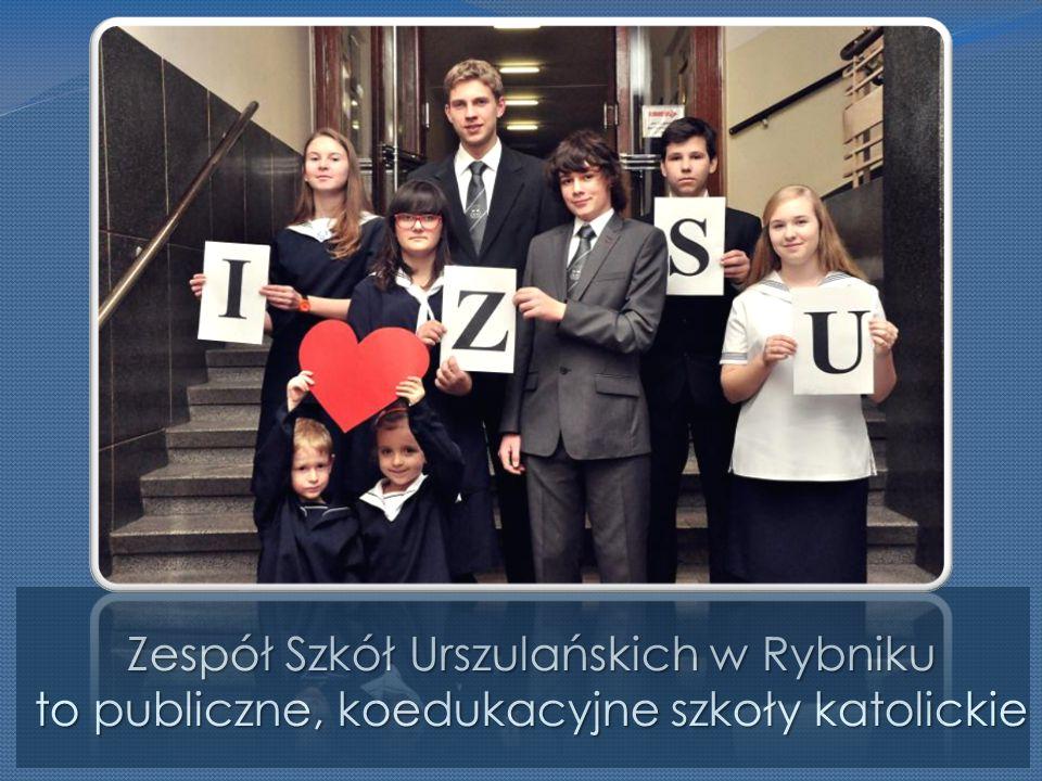 Zespół Szkół Urszulańskich w Rybniku to publiczne, koedukacyjne szkoły katolickie