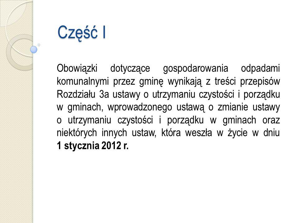 Metoda i stawka - art.6k ustawy o utrzymaniu czystości i porządku w gminach Art.