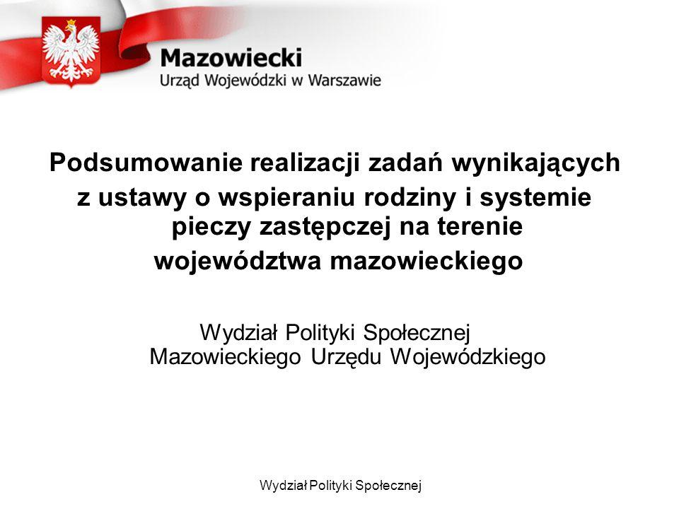Legalizacja pobytu dzieci cudzoziemskich na terenie RP Wojewoda Mazowiecki w 2013 r.