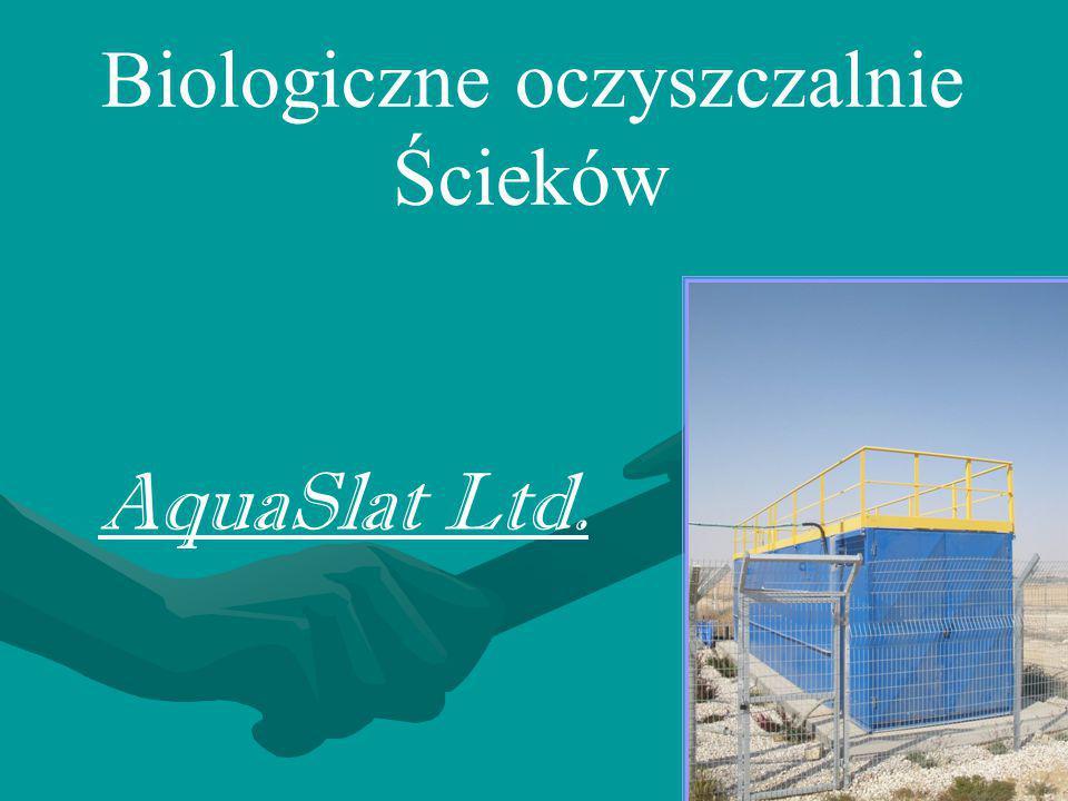 Biologiczne oczyszczalnie Ścieków AquaSlat Ltd.