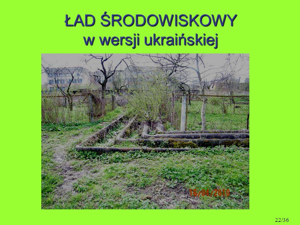 ŁAD ŚRODOWISKOWY w wersji ukraińskiej 22/36