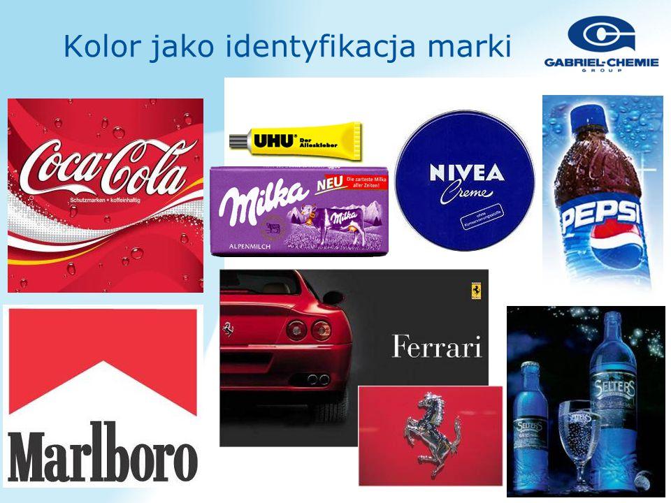 Kolor jako identyfikacja marki