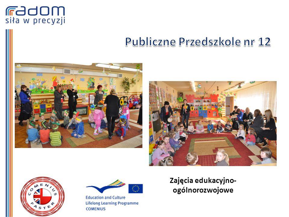 Zajęcia edukacyjno- ogólnorozwojowe