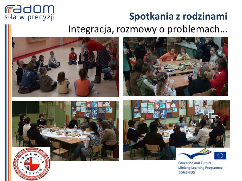 Spotkania z rodzinami Integracja, rozmowy o problemach…