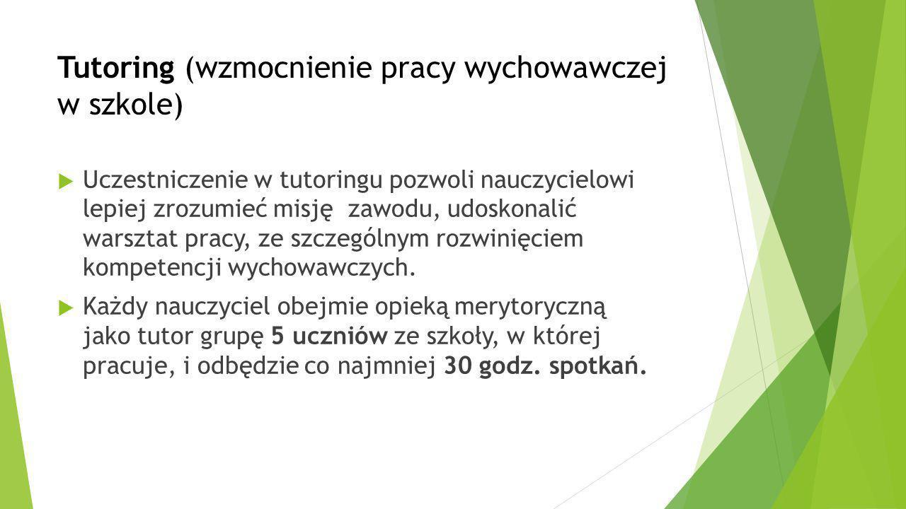 Kursy dodatkowe wspierające warsztat zawodowy nauczyciela  Np.