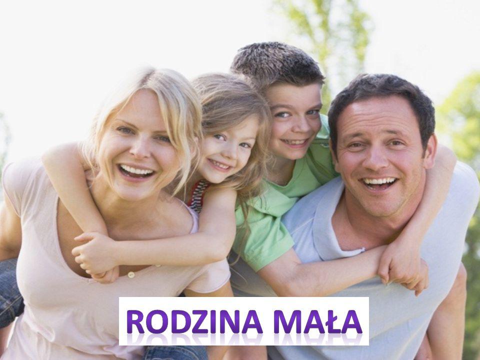 Ogół osób o których wiadomo, że są spokrewnione lub spowinowacone chociażby w linii bocznej, nazywa się rodziną wielką. Rodzinę również stanowi samotn