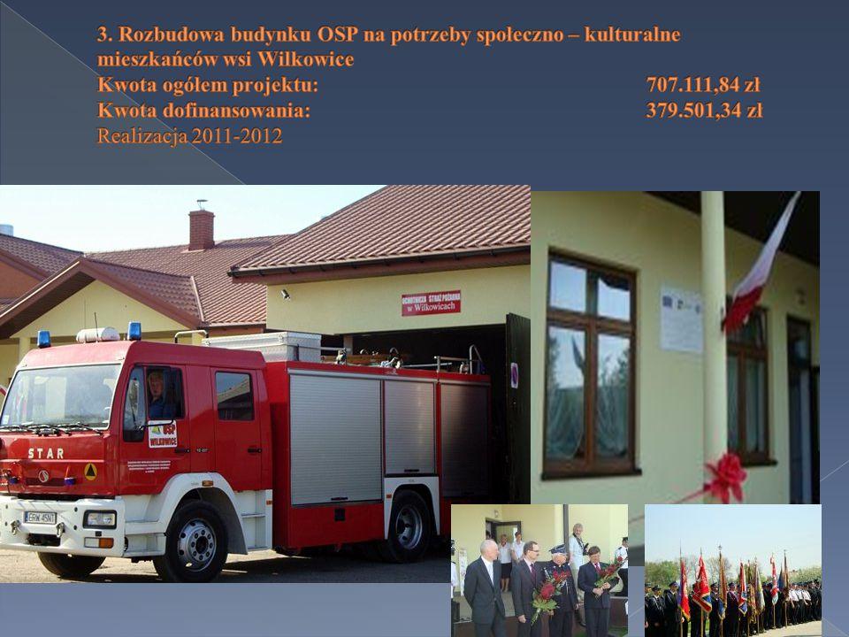  Wałowice - Niwna (0,785 km) -134.383,31 zł  Realizacja 2014 rok