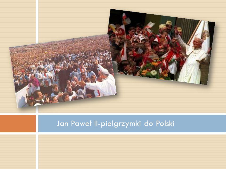 Jan Paweł II-pielgrzymki do Polski