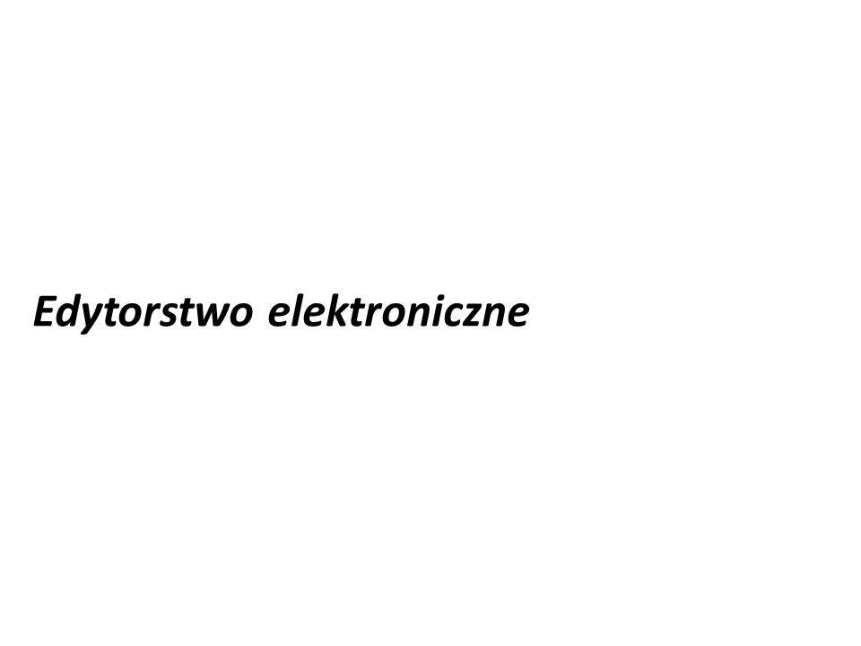 Edytorstwo elektroniczne