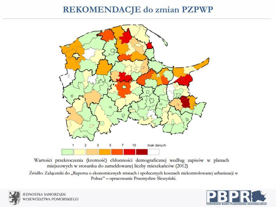REKOMENDACJE do zmian PZPWP Osadnictwo i infrastruktura społeczna: wzmacnianie powiązań między węzłami sieci osadniczej - Pomorska Kolej Metropolitaln