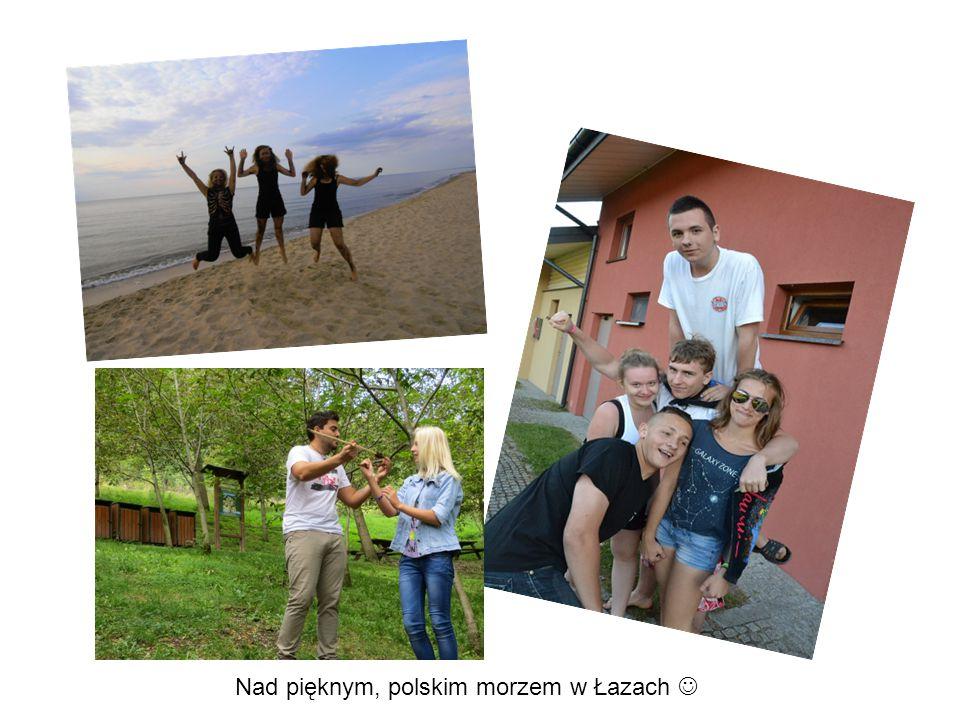 Nad pięknym, polskim morzem w Łazach