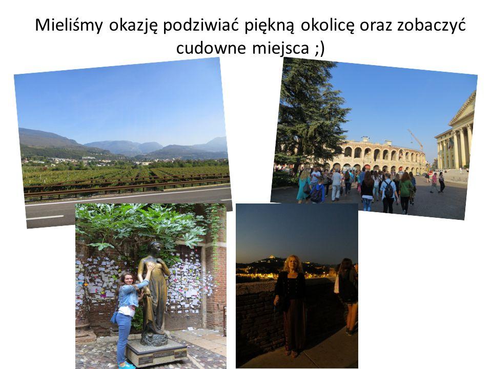 Mieliśmy okazję podziwiać piękną okolicę oraz zobaczyć cudowne miejsca ;)