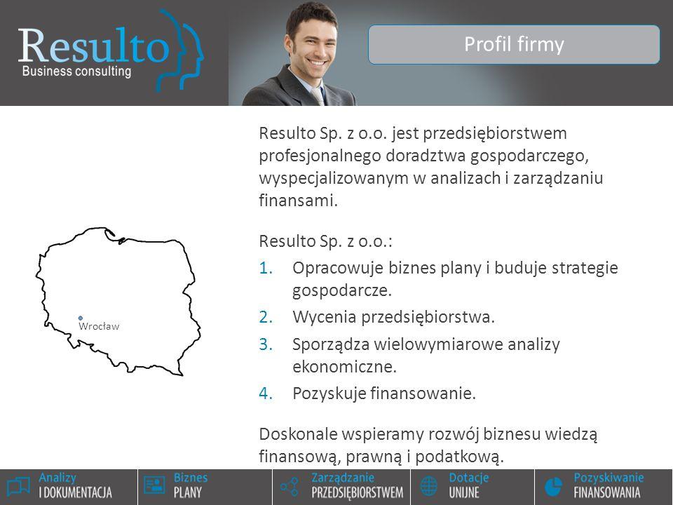Wrocław, 2014-12-11www.resulto.pl Zapraszam do współpracy mgr Jacek Puchalski, MBA www.resulto.pl www.resulto.pl tel.