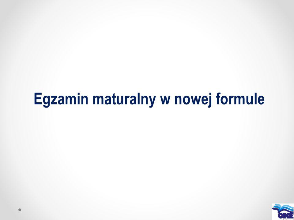 Dostosowania egzaminu maturalnego w 2015 1.