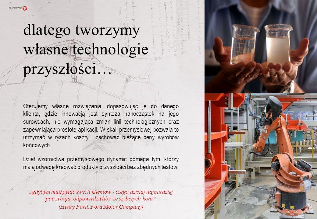 Obecne na rynku produkty praktycznie nie różnią się, więc innowacyjne technologie mogą to zmienić, podnosząc jednocześnie ich jakość. Zasobów mineraln